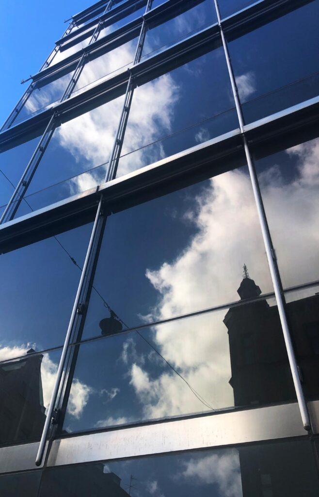 Solfilm fönster